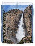 Upper Yosemite Fall Duvet Cover