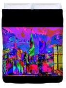 Urban Color Duvet Cover