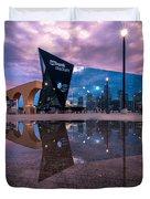 Us Bank Stadium In Minneapolis Duvet Cover