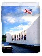 Uss Arizona Memorial Duvet Cover