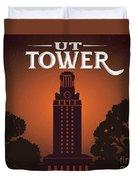 Ut Tower Duvet Cover