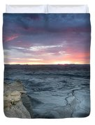Utah Desert Sunrise Duvet Cover