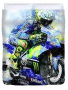Valentino Rossi - 18 Duvet Cover