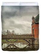 Vallo Castle Wooden Moat Bridge Duvet Cover