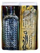 Vapo-cresolene Vaporizer Liquid Poison Bottle Duvet Cover