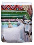 Vedagiriswarar Temple Duvet Cover