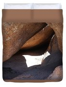 Vedauwoo Natural Cave Duvet Cover