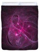 Veiled Pink Duvet Cover