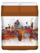 Venice Colorful Skyline Duvet Cover