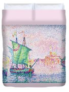 Venice, The Pink Cloud - Digital Remastered Edition Duvet Cover