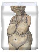 Venus Of Kostenski Duvet Cover