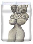 Venus Of Merhgargh Duvet Cover