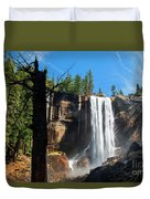 Vernal Fall, Yosemite National Park Duvet Cover