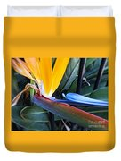 Vibrant Bird Of Paradise #2 Duvet Cover
