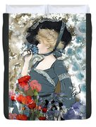 Victorian Lady Duvet Cover