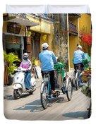 Vietnam Street Duvet Cover