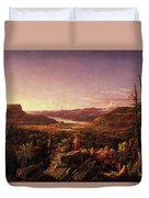 View Of Greenwood Lake, New Jersey Duvet Cover
