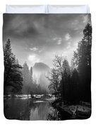 View Of Half Dome II Duvet Cover