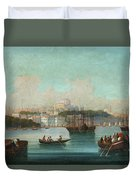 View Of Istanbul - 1 Duvet Cover