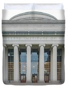 View Of Massachusetts Institute Duvet Cover