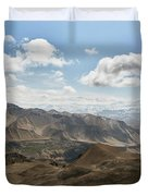 View Of The Village Of Marang From Mui Duvet Cover