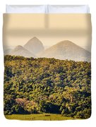 View To The Sunshine Coast Duvet Cover