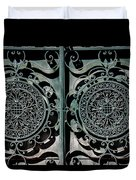 Villa Gate Duvet Cover