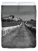 Vineyard In Saint-emilion Duvet Cover
