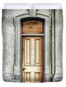 Vintage Door Duvet Cover