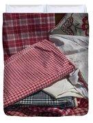 Vintage French Textiles Duvet Cover