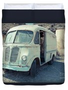Vintage International Harvester Metro Delivery Van Duvet Cover