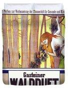 Vintage Poster - Gasteiner Waldduft Duvet Cover