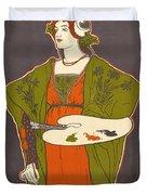Vintage Poster - Louis Rhead Duvet Cover
