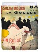 Vintage Poster - Toulouse Lautrec Duvet Cover