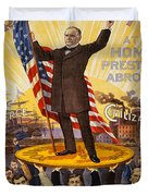 Vintage Poster - William Mckinley Duvet Cover