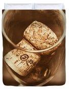 Vintage Vino Duvet Cover