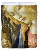 Virgin And Child Renaissance Catholic Art Duvet Cover