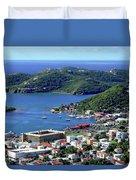Virgin Island View Duvet Cover