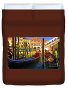 Visions Of Venice Duvet Cover