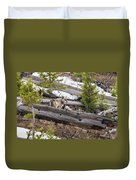 w75 Duvet Cover by Joshua Able's Wildlife