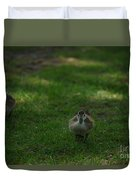 Waddling Ducklings Duvet Cover