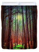 Waihou Forest  - Maui Duvet Cover