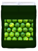 Wall Of Limes Duvet Cover