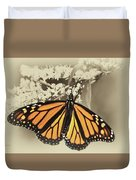 Wandering Migrant Butterfly Duvet Cover