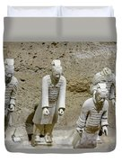 Warriors Of Pit 2, Xian, China Duvet Cover