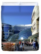 Warsaw Shopping Mall Duvet Cover