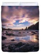 Washington Coast Skies Blue Clarity Duvet Cover