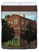 Washington Fire Company - Conshohocken Pennsylvania Duvet Cover