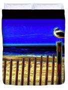 Watchin' The Tide Roll, Away Duvet Cover by Paul Wear