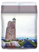 Watchtower Of The Sky Duvet Cover